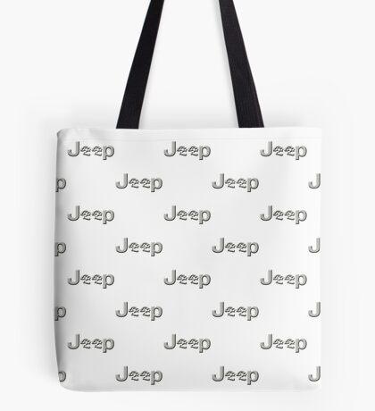 JEEP SKULLS Silver Tote Bag