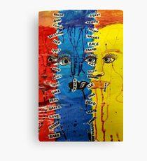 Exploring The Worst Vibrant Emotions Canvas Print