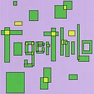 2505 - Tigerthilo Design Green Squared Style by tigerthilo