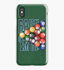 Rack Em Up iPhone Case/Skin