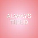 Immer müde von N C