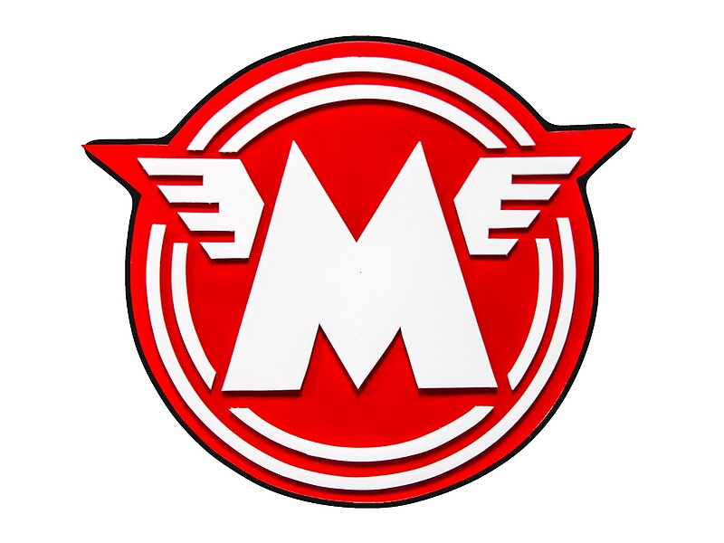 Vintage Matchless Motorcycle Logo Art\