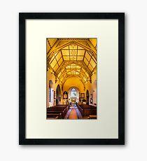 St Mary Kintbury Framed Print