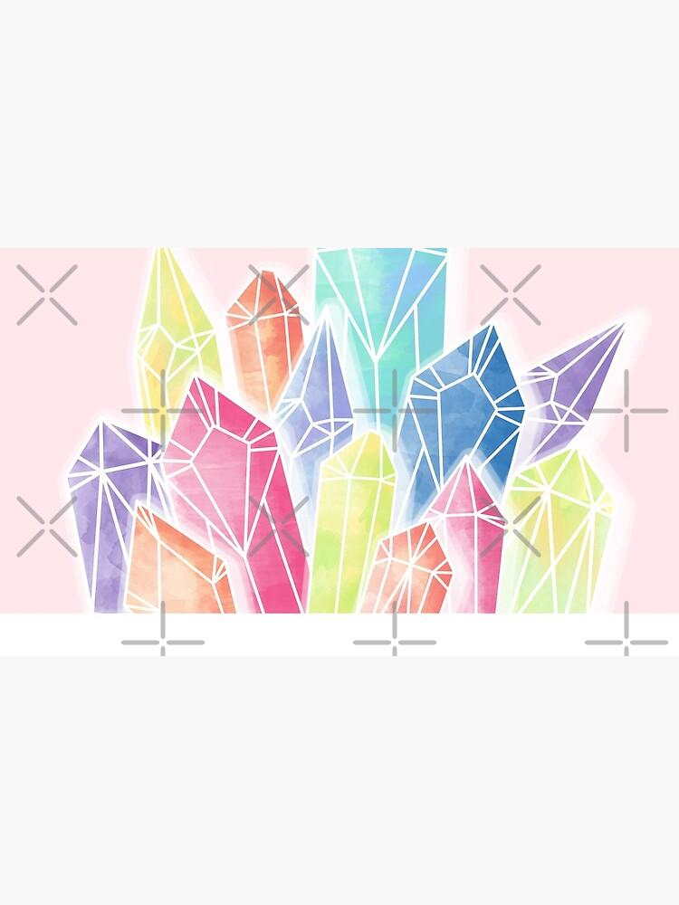 Crystals Pink by PrintablesP
