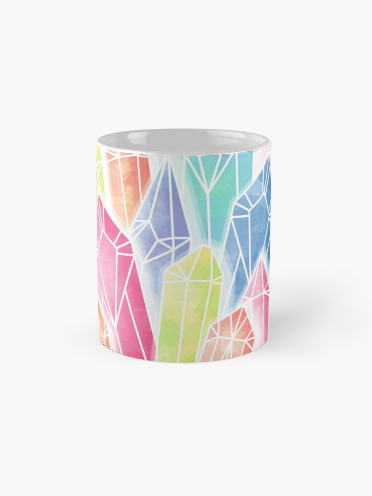 Alternate view of Crystals Pink Mug