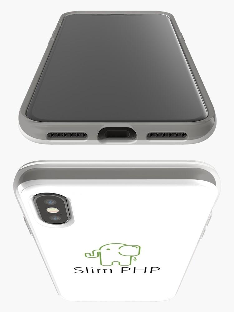 Alternative Ansicht von Schlank PHP-Logo iPhone-Hüllen & Cover