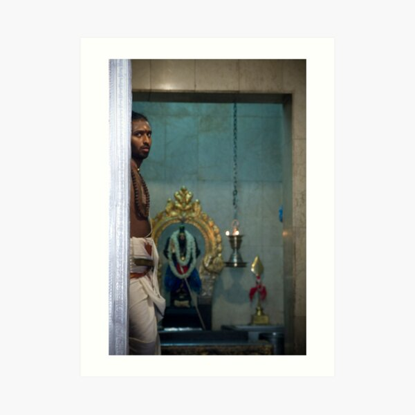 In the Hindu Temple Art Print