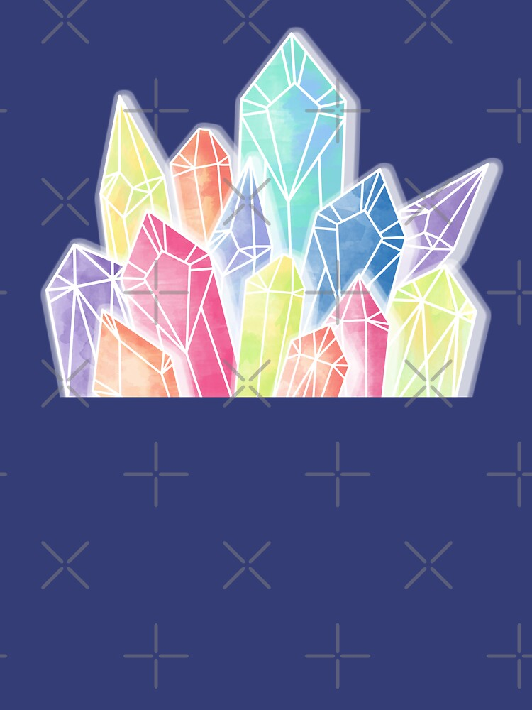 Crystals Blue by PrintablesP