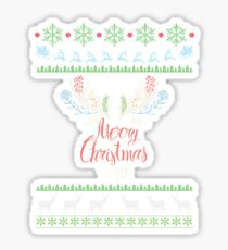 Sweatshirt *Merry Christmas* Sticker