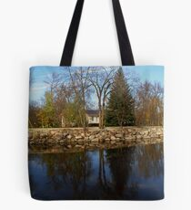 reflections in st malo Tote Bag