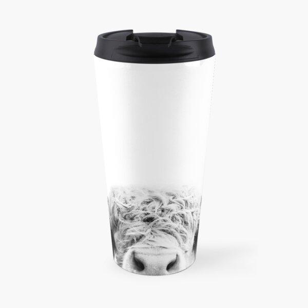Peeking Cow Travel Mug