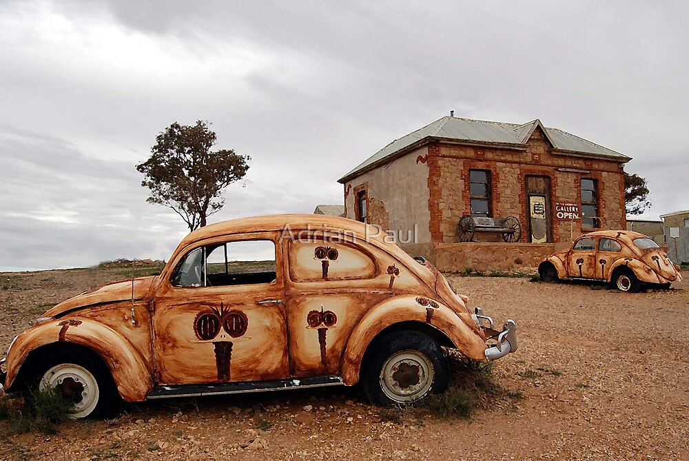 The Outback Art Gallery, Silverton, NSW, Australia by Adrian Paul