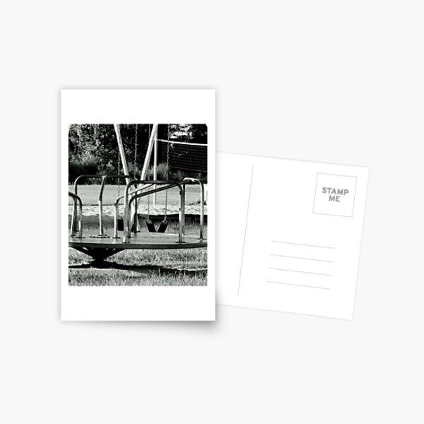 Empty Playground Postcard