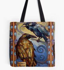Ravens von Odin, Huginn & Muninn Tote Bag
