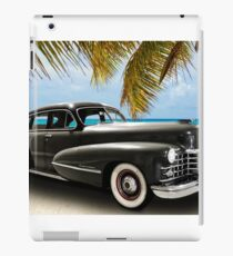 Vintage Cadillac Photo Art iPad Case/Skin