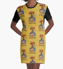 I Pity The Fool That Don't Eat My Cereal! Graphic T-Shirt Dress