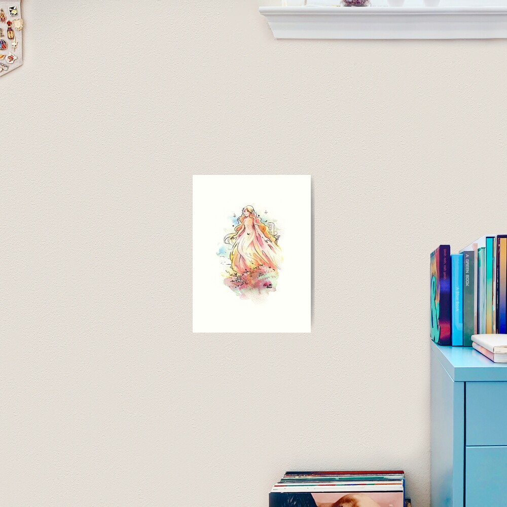 The Gigantic Fairy Art Print