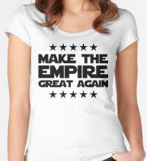 Make The Empire Great Again Women's Fitted Scoop T-Shirt