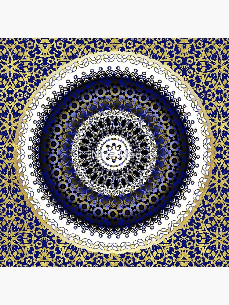 Royal Baroque Mandala by ninabmay