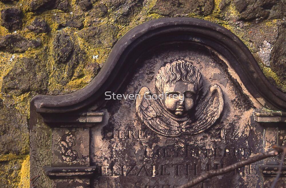 Elizabeth's Angel - Old Calton Cemetary by Steven Godfrey