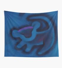 lion king born Wall Tapestry