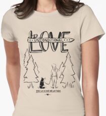 Dog Lovers With Style Women's Fitted T-Shirt