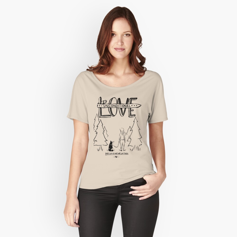 Dog Lovers With Style Women's Relaxed Fit T-Shirt Front