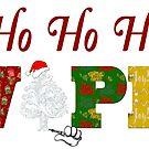 Ho HO Ho VAPE  Vapers Christmas  by IconicTee