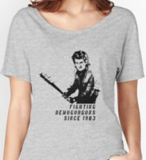 Steve Fighting (Stranger Things) Women's Relaxed Fit T-Shirt
