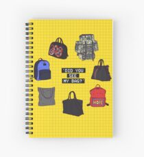 Did You See My Bag? Spiral Notebook