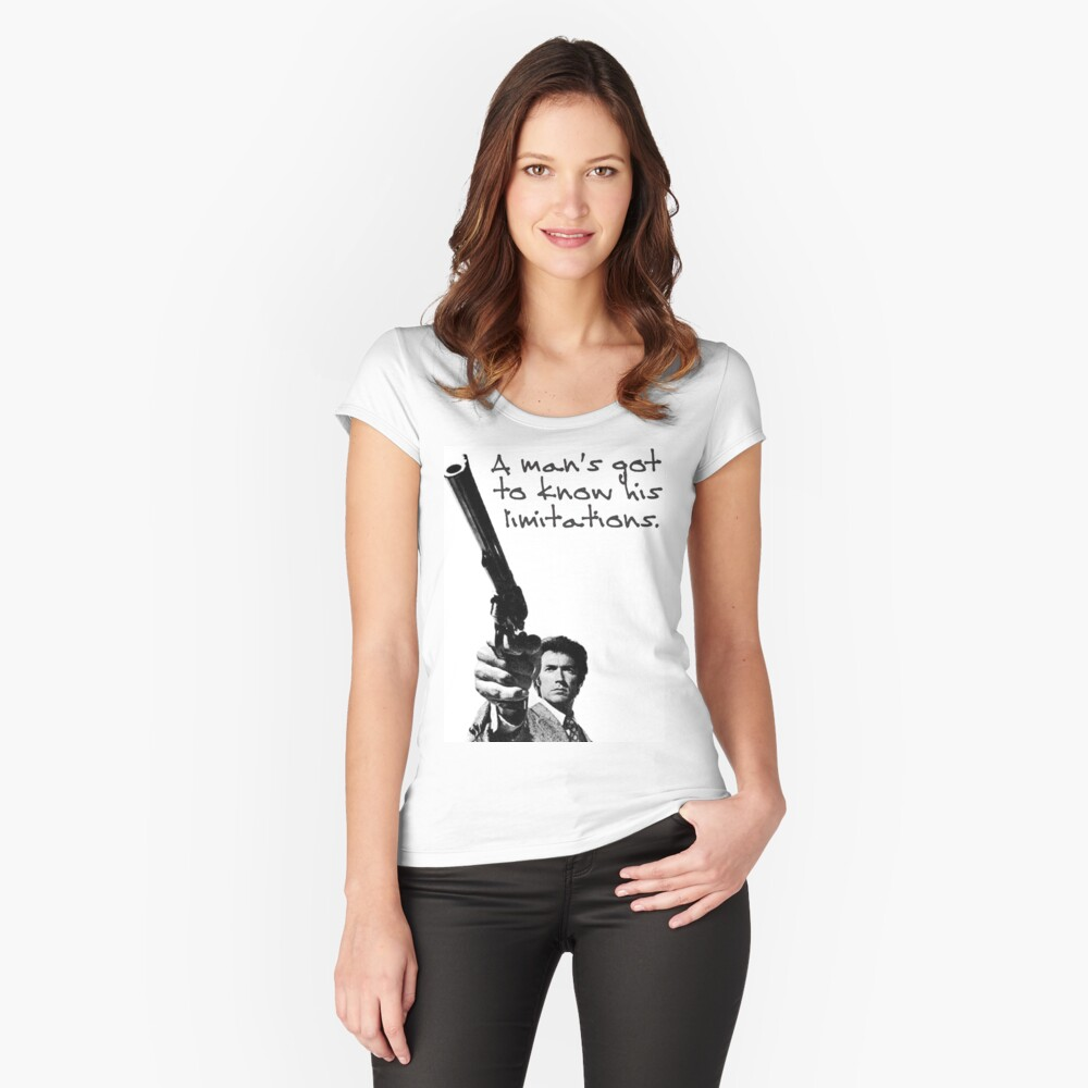 Know your limitations Women's Fitted Scoop T-Shirt Front