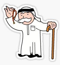 Mr. Monopoly - Arabic Sticker