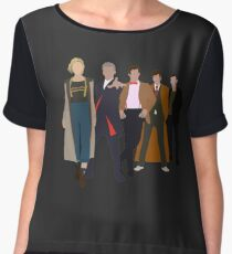 Doctor Who - All Five Modern Doctors - New Costume! (DW Inspired) Chiffon Top