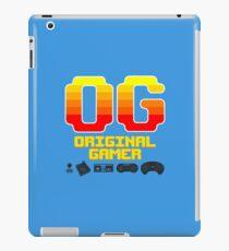 OG: Original Gamer (for lighter colors) iPad Case/Skin