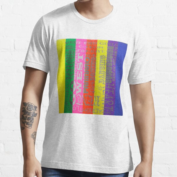Introspectivo Pet Shop Boys Camiseta esencial