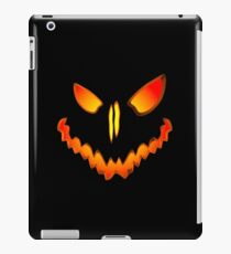 Spooky Jack O Lantern Face iPad Case/Skin