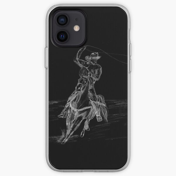 Cowboy Roping iPhone Soft Case