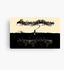 A Tale of Infinite Cities (Landscape) Canvas Print