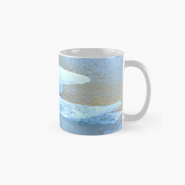 Ice from the Solheimajokull Mug classique