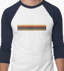 13th Doctor Rainbow Top Men's Baseball ¾ T-Shirt