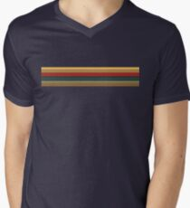 13th Doctor Rainbow Top Men's V-Neck T-Shirt