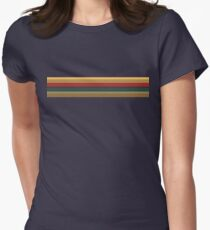 13th Doctor Rainbow Top Women's Fitted T-Shirt