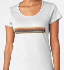 13th Doctor Rainbow Top Women's Premium T-Shirt