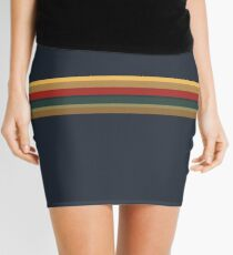 13th Doctor Rainbow Top Mini Skirt