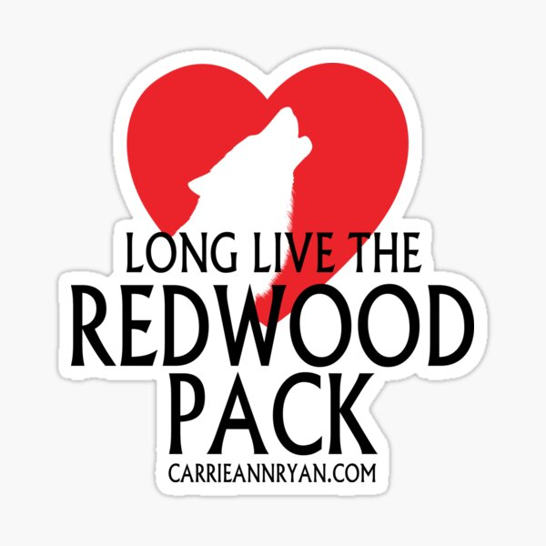 Long Live The Redwood Pack (LIGHT) Sticker