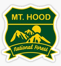 Mount Hood National Forest Sticker