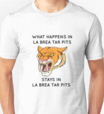 La Brea Tar Pits - Sabre Tooth Tiger Unisex T-Shirt