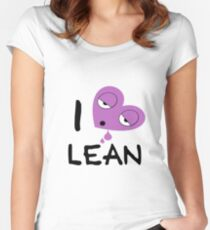 I love lean Women's Fitted Scoop T-Shirt
