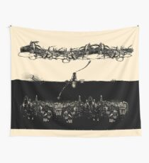 A Tale of Infinite Cities (Landscape) Wall Tapestry
