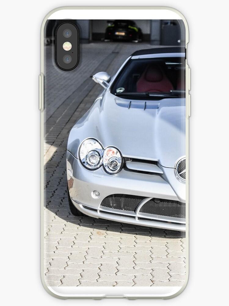 Mercedes Benz Slr Mclaren Roadster Iphone Case By Dutchstylez